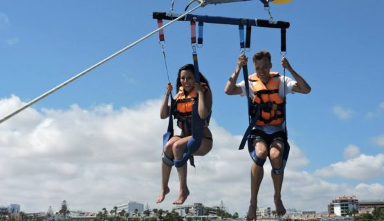 parasailing-from-the-boat-trip-gran-canaria
