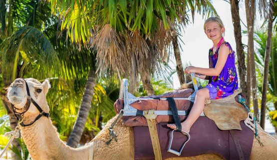little-girl-on-a-camel-gran-canaria