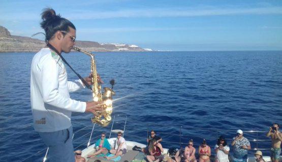 sax-player-afrikat-gran-canaria